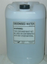 Deionised Water 25Ltr