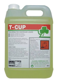 T Cup Chlorinated Dishwashliquid