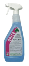 Brite-Window/Mirror/Plastic Cleaner 750Ml