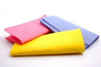 White Terry Toweling Rags