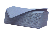 Interfold Towel Blue