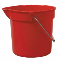 Red 10Ltr Bucket With Spout