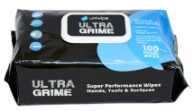 UNIWIPE ULTRA GRIME WET WIPE